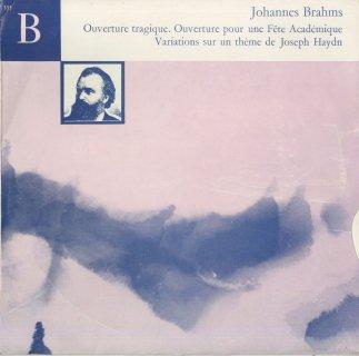 ブラームス:悲劇的序曲,大学祝典序曲,ハイドン変奏曲