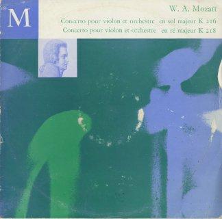 モーツァルト:ヴァイオリン協奏曲3番K.216,4番K.218