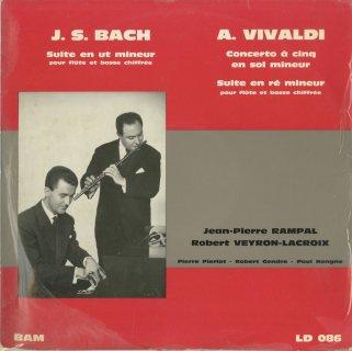 バッハ:フルート・ソナタ(リュート組曲BWV.997編曲),ヴィヴァルディ:協奏曲,フルート・ソナタ
