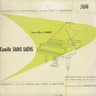 サン・サーンス:ピアノ協奏曲2番Op.22,4番Op.44