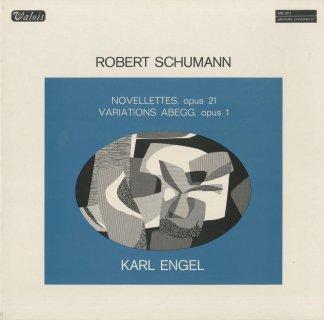 シューマン:ノヴェレッテOp.21,アベック変奏曲Op.1