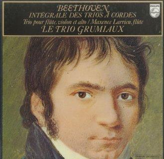 「ベートーヴェン:弦楽トリオ全集」Op.3,Op.9,セレナーデOp.8,Op.25