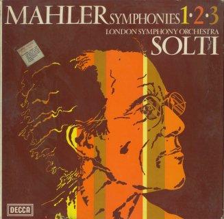 マーラー:交響曲1,2,3番