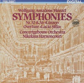モーツァルト:交響曲36番K.425「リンツ」,32番K.318,「ルーチョ・シッラ」序曲K.135