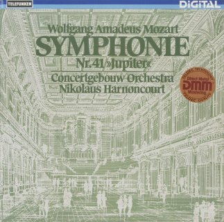 モーツァルト:交響曲41番K.551「ジュピター」
