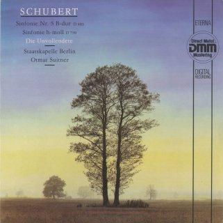 シューベルト:交響曲5番,8番「未完成」