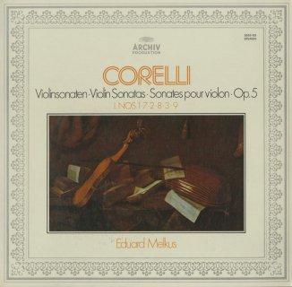 コレッリ:ヴァイオリン・ソナタ集Op.5-1〜12