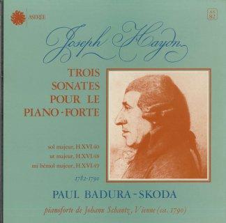 ハイドン:ピアノ・ソナタ40,48,49番