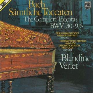 バッハ:7つのトッカータBWV.910〜6,半音階的幻想曲とフーガBWV.903,幻想曲BWV.922