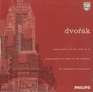 ドヴォルザーク:弦楽四重奏曲10番Op.51,12番Op.96「アメリカ」