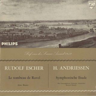 エッシャー:ラヴェルの墓,アンドリーセン:交響的練習曲