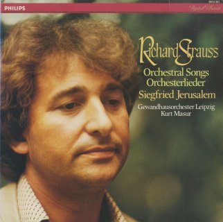 「リヒャルト・シュトラウス歌曲集」ひそやかな誘いOp.27-3,たそがれの夢Op.29−1,愛の賛歌Op.32−3,他全12曲