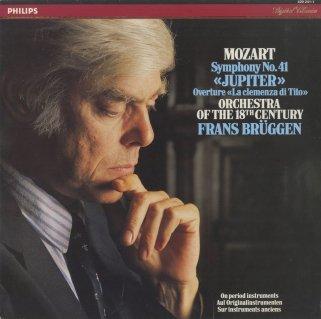 モーツァルト:交響曲41番K.551「ジュピター」,「皇帝ティートの慈悲」K.621〜序曲