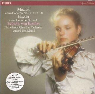 ヴァイオリン協奏曲/モーツァルト:2番K.211,ハイドン:ハ長調