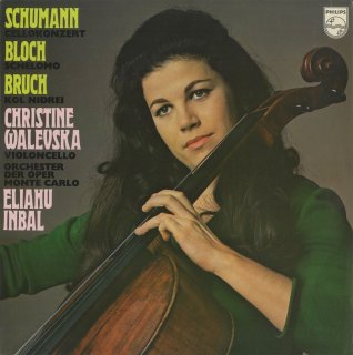 シューマン:チェロ協奏曲Op.129,ブロッホ:シェロモ,ブルッフ:コル・ニドライOp.47