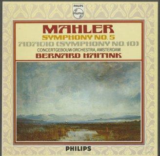 マーラー:交響曲5番,10番〜アダージョ