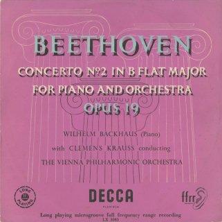 ベートーヴェン:ピアノ協奏曲2番Op.19