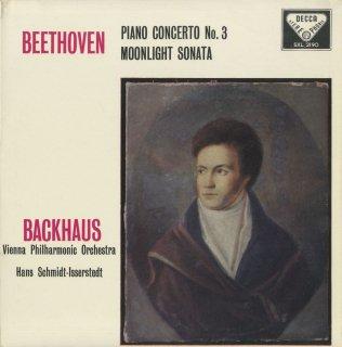 ベートーヴェン:ピアノ協奏曲3番Op.37,ピアノ・ソナタ14番Op.27-2「月光」