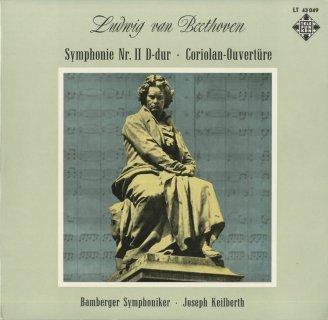 ベートーヴェン:交響曲2番Op.36,コリオラン序曲Op.62