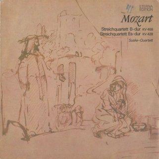 モーツァルト:弦楽四重奏曲16番K.428,17番K.458