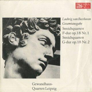 ベートーヴェン:弦楽四重奏曲1-6番Op.18