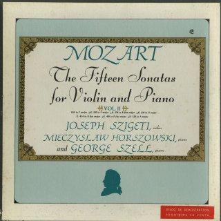 モーツァルト:ヴァイオリン・ソナタ集(15曲)/K.296,301〜6,376〜80,他