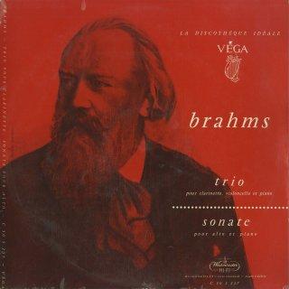 ブラームス:クラリネットトリオOp.114,ヴィオラ・ソナタ2番Op.120
