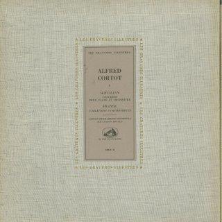 シューマン:ピアノ協奏曲Op.54,フランク:交響変奏曲