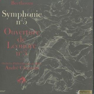 ベートーヴェン:交響曲5番Op.67「運命」,序曲レオノーレ3番Op.72a