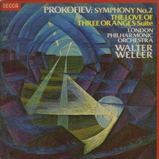 プロコフィエフ:交響曲2番Op.40,3つのオレンジヘの恋Op.33a