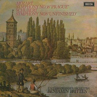 モーツァルト:交響曲38番K.504「プラハ」,シューベルト:交響曲8番「未完成」