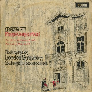 モーツァルト:ピアノ協奏曲20番K.466,6番K.238