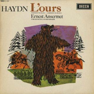 ハイドン:交響曲82番「熊」,86番