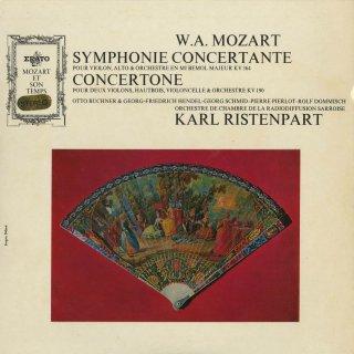 モーツァルト:協奏交響曲K.364,2ヴァイオリンのためのコンチェルトーネK.190