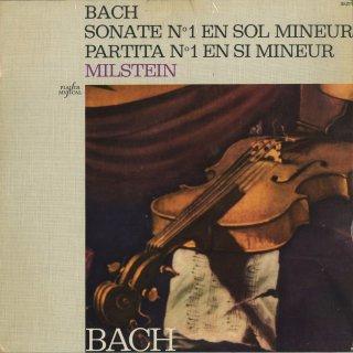 バッハ:無伴奏ヴァイオリン・ソナタ1番B.1001,パルティータ1番B.1002