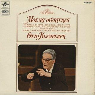 モーツァルト:序曲集/フィガロ,ドン・ジョヴァンニ,コシ,後宮,魔笛,他