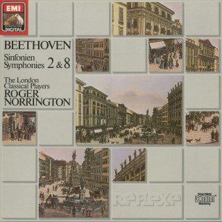 ベートーヴェン:交響曲2番Op.36,8番Op.93