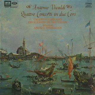 ヴィヴァルディ:2つの弦楽合奏のための協奏曲(4曲)
