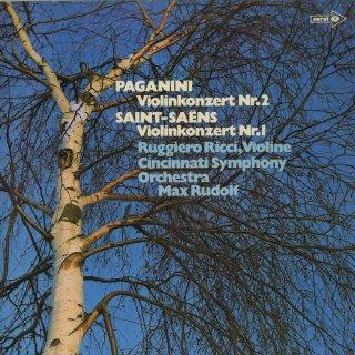 ヴァイオリン協奏曲集/パガニーニ:2番Op.7,サン・サーンス:1番Op.20