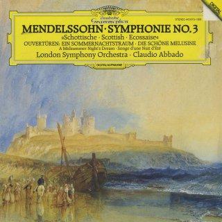 メンデルスゾーン:交響曲3番Op.56,序曲「真夏の夜の夢」「美しいメルジーネの物語」