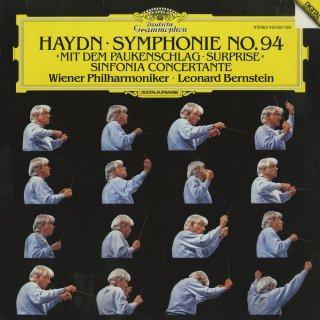 ハイドン:交響曲94番「驚愕」,協奏交響曲Op.84