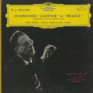 モーツァルト:交響曲32番K.318,35番K.385「ハフナー」,38番K.504「プラハ」