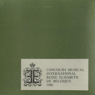 「1968年エリザベート王妃国際音楽コンクール(ピアノ部門)」