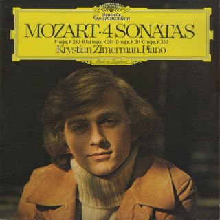 モーツァルト:ピアノ・ソナタK.280,K.281,k311,K330