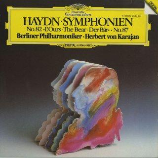 ハイドン:交響曲82番「熊」87番