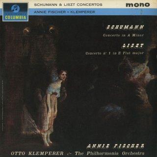 ピアノ協奏曲集/シューマン:Op.54,リスト:1番