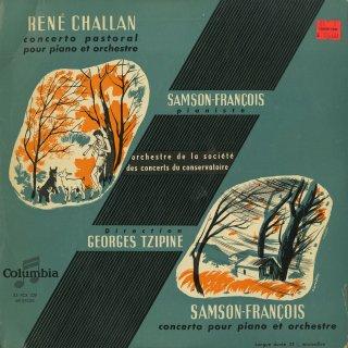 シャラン:田園協奏曲Op.20,フランソワ:ピアノ協奏曲