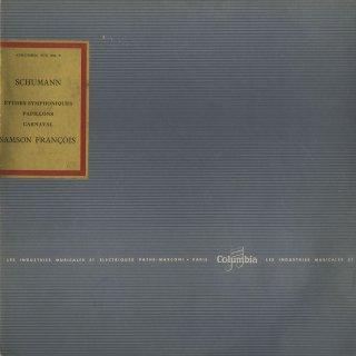 シューマン:交響的練習曲Op.13,蝶々Op.2,謝肉祭Op.9
