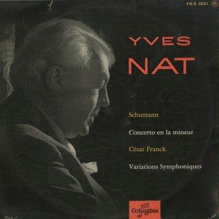 シューマン:ピアノ協奏曲Op.54,フランク:交響的変奏曲