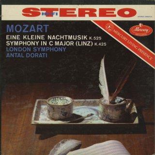 モーツァルト:アイネ・クライネK.525,交響曲36番K.425「リンツ」